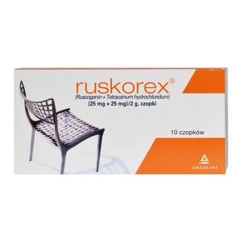 Ruskorex czopki